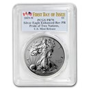 2019-W 1 oz Silver Eagle Enhanced Reverse Proof PR-70 PCGS (FD)
