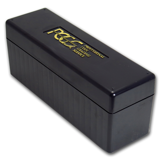 PCGS 20 - Slab Storage Boxes (Used/Recycled, Black)