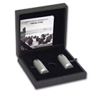 2019 Tanzania 2-Coin 1 oz Silver 75th Anniversary D-Day Bullet