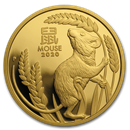 2020 Australia 1 oz Gold Lunar Mouse Proof (w/box & COA)