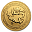2019 Niue 1 oz Gold $250 Celestial Animals Dragon COA #7 (w/Box)