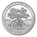 2020 5 oz Silver ATB Salt River Bay, U.S. Virgin Islands
