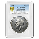 1935 Great Britain Silver Crown George V SP-64 PCGS