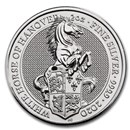 2020 Great Britain 2 oz Silver Queen's Beasts The White Horse