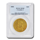 1804 $10 Turban Head Gold Eagle XF-45 PCGS (Crosslet 4)
