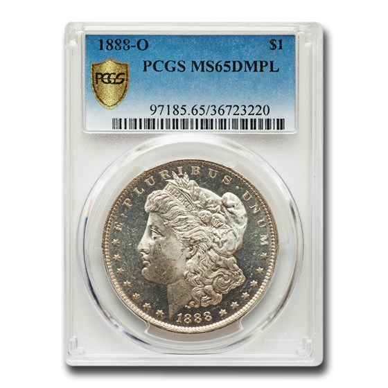 1888-O Morgan Dollar MS-65 DMPL PCGS
