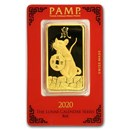 100 gram Gold Bar - PAMP Suisse Year of the Rat (In Assay)