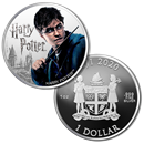 2020 Fiji 1 oz Proof Silver Harry Potter Characters: Harry Potter