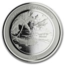 2019 St. Vincent & The Grenadines 1 oz Silver Seaplane BU