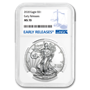 2020 Silver American Eagle MS-70 NGC (Early Releases)