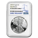 2020-W Silver American Eagle PF-70 NGC (Early Releases)