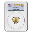 2020 1/4 oz Gold American Eagle MS-69 PCGS (FirstStrike®)