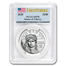 2020 1 oz Platinum American Eagle MS-70 PCGS (FirstStrike®)
