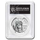 2020 1 oz Platinum American Eagle MS-70 PCGS (FS, Black Label)