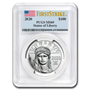 2020 1 oz Platinum American Eagle MS-69 PCGS (FirstStrike®)