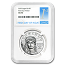 2020 1 oz Platinum American Eagle MS-70 NGC (First Day of Issue)
