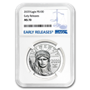 2020 1 oz Platinum American Eagle MS-70 NGC (Early Releases)