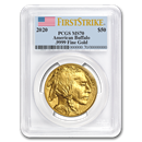 2020 1 oz Gold Buffalo MS-70 PCGS (FirstStrike®)