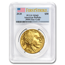 2020 1 oz Gold Buffalo MS-69 PCGS (FirstStrike®)