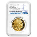 2020-W 1 oz Proof Gold Buffalo PF-70 NGC (Early Releases)