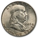 1948-D Franklin Half Dollar AU