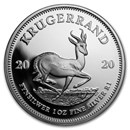 2020 South Africa 1 oz Silver Krugerrand Proof