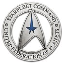 2019 TUV 3 oz Ag Starfleet Command Holey Dollar & Delta Coin Set