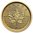 2020 Canada 1/20 oz Gold Maple Leaf BU
