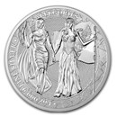 1 oz Silver Round - Germania Allegories 2019 BU (Columbia)