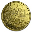 2020 Canada 1/2 oz Gold $200 Early Canada History: New France