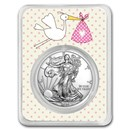 2020 1 oz Silver American Eagle - It's A Girl Delivery