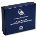 OGP Box & COA - 2020-W Silver American Eagle Proof