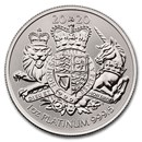 2020 Great Britain 1 oz Platinum The Royal Arms BU