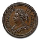 1714 Great Britain Copper Farthing Pattern SP-62 PCGS (BN)