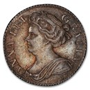 1710 Great Britain AR Sixpence MS-62 NGC