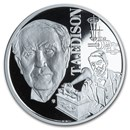 2020 Niue 1 oz Silver Proof Geniuses of the 19th Century: Edison