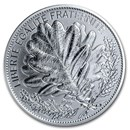 2020 Proof Silver €20 Nature of France (The Oak)