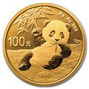 2020 China 8 gram Gold Panda BU (Sealed)