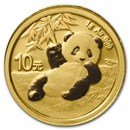 2020 China 1 gram Gold Panda BU (Sealed)