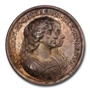 1670 England English Colonization Silver Medal MS-63 PCGS