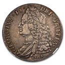 1746 Great Britain Silver Crown George II XF-45 NGC