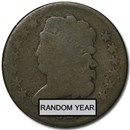 1809-1836 Classic Head Half Cent Good/VG