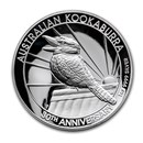 2020 Australia 1 oz Silver Kookaburra Proof (High Relief)