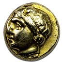 Ionia Phocaea EL Hecte Head of Female (387-326 BC) XF
