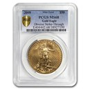 2009 1 oz Gold American Eagle MS-68 PCGS (Obv Mint Error)