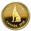 2020 Canada 1/10 oz Gold Tribute to Alex Colville: 1967 50-Cent
