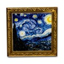 2020 Niue 1 oz Silver Vincent van Gogh: The Starry Night