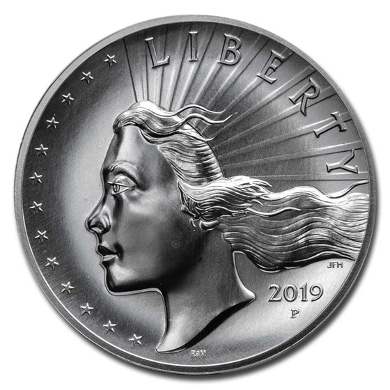 2019-P 2.5 oz Silver American Liberty High Relief (Spotted)