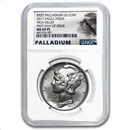 2017 Palladium Eagle MS-69 PL NGC (FDI, Prooflike)