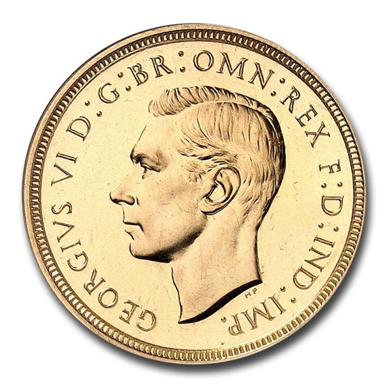 1937 Great Britain Gold Sovereign George VI PF-66 NGC